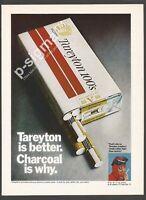 TAREYTON cigarettes 1971 Vintage Print Ad