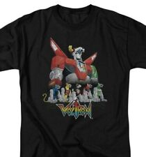 Voltron t-shirt Defender of the Universe retro 80s Tv series graphic tee Drm219
