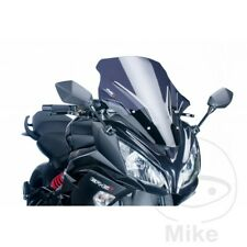 PUIG Dark Racing Screen / Windshield Kawasaki ER-6F 650 F ABS 2012