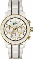Women's Lacoste Charlotte White Chronograph Watch 2000845