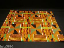 Pocket Square / handkerchief 12 inch Kente cotton new handmade