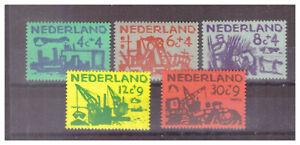 010611 Niederlande 1959 MNR 730/ 34 Fürsorge Postfrisch/ **
