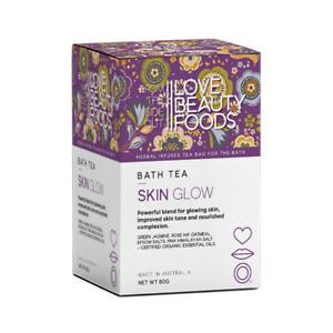 Love Beauty Foods- Skin Glow Bath Tea- Australian Made- Organic- Herbal Bath Tea