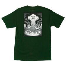 Creature Forever Undead Skateboard T Shirt Forest Green Xl