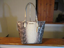 Authentic Brahmin Asher Melbourne Veranda Embossed Croc Leather Tote Large NWT