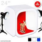 60X60CM Photo Studio Cube Tent Soft Light Softbox Lighting Kit + 4 Backdrops