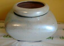 Wonderful African Violet Flower Pot Self Watering New Pearl White Glaze