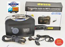 Portable 128Kbps Tape to USB PC Flash Disk Cassette to MP3 CD Converter