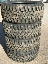 4 Takeoff Tires 295 55 20 Mastercraft Courser MXT 10 Ply 33 12.50 20 MT Tire