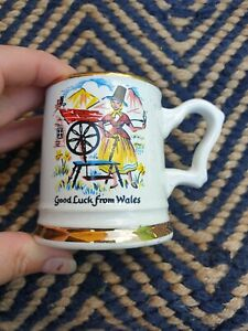 Prince William Warranted 22 Carat Gold 'Good Luck From Wales' Small Tankard