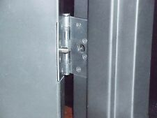 Door Guard for Steel out-swing doors. Prevent Lift-out after hinge removal.
