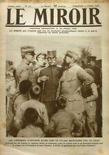 Le miroir n°151 - 1916 - Canadiens après la prise de Courcelette - Combles -