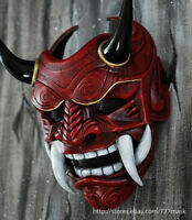AIRSOFT MASK BB GUN SAMURAI ASSASSIN DEMON ONI HALLOWEEN COSTUME COSPLAY DA01