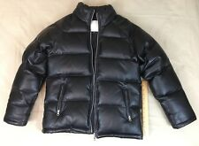 L.Z.G Japanese Leather Winter Jacket Polyester Lining Size M Rare Unique Import