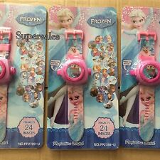 New frozen Digital Projector Watch with 24 Projected Images Kids Toy Light Watch
