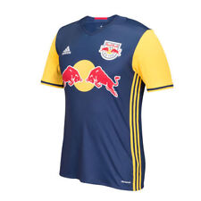 Adidas New York Red Bulls Authentic Away MLS Soccer Jersey ClimaCool ( AB9429 )