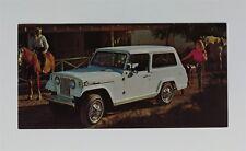 Vintage 1966 Jeep Commando Dealer Sales Postcard