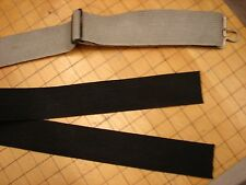 Original WW2 US Aviation AN6530 Goggle Replacement Elastic Strapping-Black Color