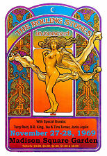 British Rock: The Rolling Stones at Madison Square Garden Concert Poster 1969