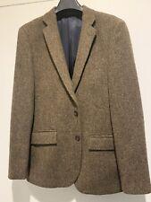 J. Crew Brown Tweed Three Piece Suit