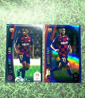 Panini WCCF 2020 Ansu Fati Rookie Set Footista FC Barcelona RC Scarce Refractor