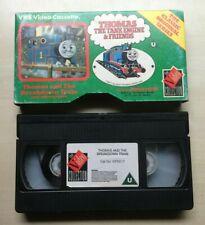 THOMAS THE TANK ENGINE - THOMAS AND THE BREAKDOWN TRAIN - RARE VHS VIDEO