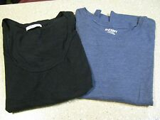 2 Old Navy T Shirt Lot Size XXL Black Blue
