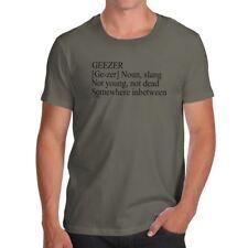 Geezer Description Funny T-Shirts For Men