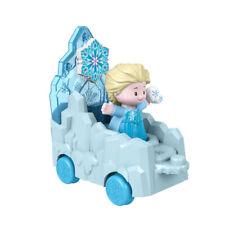 Fisher- Little People 14cm Disney Princess Frozen Elsa With Parade Float
