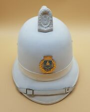 Post WW2 Italian Polizia Military Italy Pith Helmet Unknown Insignia?