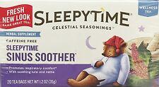 Celestial Seasonings Sleepytime Sinus Soother Wellness Tea 20 Tea Bags