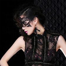 1pc Women Black Lace Eye Face Mask Masquerade Party Prom Stage Halloween Costume