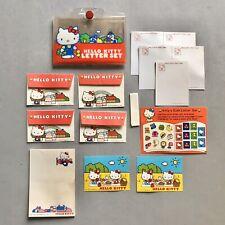 VTG 1980s HELLO KITTY Letter Set Case 1976 SANRIO Stickers, Envelopes STATIONERY