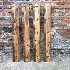 Rustic Reclaimed Pine children's Height Chart Ruler  Shabby Chic Kids Room