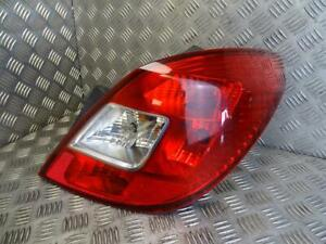 2007 Vauxhall Corsa D 5 Door Drivers Side Rear Light O/S/R Lamp