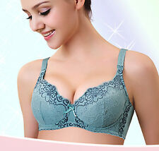 New Maternity Nursing Bra Wider Flank Lace Cotton Soft UnderWire