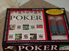 How To Play Poker Book & 100 Chips NEW