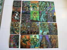 Tony Daniels Chromium Master Set of The Tenth  Krome Productions 1997 Cards