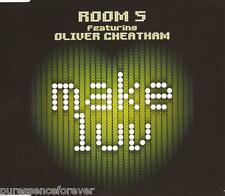 ROOM 5 ft OLIVER CHEATHAM - Make Luv (UK 3 Track CD Single)