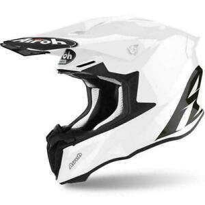 Airoh Twist 2.0 Motocross Enduro MX Off Road Motorcycle Bike Helmet Gloss White