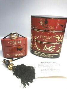 Opium YSL pure parfum 7,5 ml. Rare vintage 1977s. Sealed bottle
