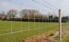 50M ROLL C8/80/15 STOCK FENCE Galvanised Fencing Sheep Farm 80cm 0.8m C88015
