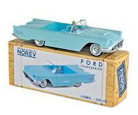 Les miniatures de NOREV CL2712 - Ford Thunderbird 1960 Aquamarine 1/43