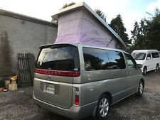 2003 NISSAN ELGRAND NEW FULL SIDE CONVERSION 4BERTH POP TOP CAMPERVAN 3.5 V6 LPG