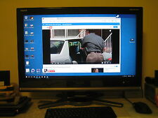 "*TV tuner not working* 32"" Full HD 1920 x 1080 100Hz SHARP Aquos TV (PC Monitor)"