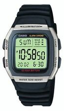 Read 1st Casio Men's Digital LCD Alarm Black Illuminator Smart Resin Watch Rx6