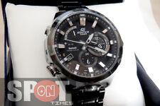 Casio Edifice Bluetooth Black Stainless Steel Men's Watch EQB-510DC-1A