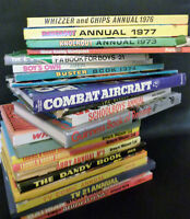 Vintage Annuals / Books Dandy Laurel & Hardy Batman Buster Multi Listing 60s/70s