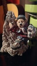Boyds Bears & Friends Bearstone Collection Sir Edmund Persistence Figurine 1996