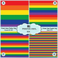 French Bulldog Patterned HTV Printed Adhesive Vinyl 860 Heat Transfer Vinyl